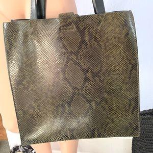 Portfolio Leather Tote